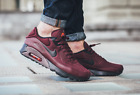NIKE AIR MAX 90 ULTRA SHOES MENS SE SNEAKERS BURGUNDY / CRIMSON / MAROON