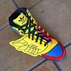 Men's Adidas JEREMY SCOTT Wings Sun Rainbow Fashion Sneakers