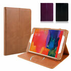 Premium Magnetic Real Genuine Leather Wake/Sleep Smart Case Cover For iPad 9.7