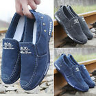 cheap sneakers for men -  Men Slip on Loafers Breathable Casual Canvas Shoes Casual Sneakers Cheap 38-44
