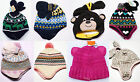 NWT Boys Girls Winter Hat Mittens Set Knit Carters  NEW Toddler Infant