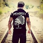 Ink Addict Men's Chief Tattoo Black T-shirt