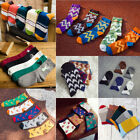 5 Pairs 2017 Casual Cotton Socks Design Multi-Color Fashion Dress Men's Socks