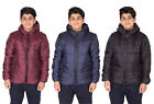 Boys Quilted Jacket Winter Hooded Padded Coat Puffer Kids Outerwear Parka