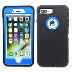 Defender Hybrid Rugged Hard Stand Belt Clip Case Cover For Apple iPhone 7 7Plus