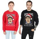 Dashing Theroux The Snow Christmas Sweater Top Jumper Sweatshirt Xmas Ugly Louis for sale  Cardiff