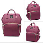 LEQUEEN Mummy Maternity Nappy Diaper Bag Large Capacity Baby Travel Backpack