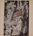 VTG Picasso Print Erotic Gravure Drawing 1969 * * * SEE VARIETY