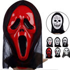 creepy face mask - Full Face Mask Scary Grimace Halloween Costume Evil Creepy Party Horror Natural