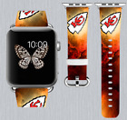Kansas City Chiefs Apple Watch Band 38 40 42 44 mm IWatch PU Leather Strap 258 on eBay