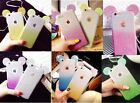 lot 5 3D Mouse Ears Soft phone Case Cover For iphone 5s 6 6s plus 7 8 plus X 10