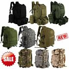 30L/40L/50L  Military Tactical Army Rucksacks Molle Backpack Camping Hiking Bag
