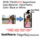 Custom Photo Picture Phone Case Cover For iPod 6th Generation