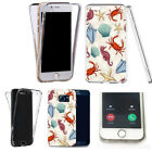 for iphone 5 case 360° shockproof cover -artful motif