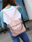 Women Backpack Rucksack Leather Shoulder Bag Satchel Travel School College Bags