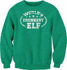 World's DRUNKEST Elf - 001 - Funny Christmas Sweater Party - SWEAT SHIRT