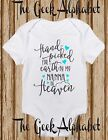 Hand Picked For Earth by My Nanna Blue and Grey  in Heaven Rainbow Baby Clothes