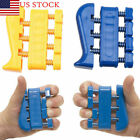 Finger Grip Strengthener and Hand Exerciser Training Tool Trainer Hand Tension image