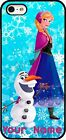 Frozen Elsa Anna Olaf Phone Case Cover Fits iPhone Samsung Lg HTC with Any Name