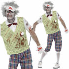 Men's Golfer Zombie Halloween dressing up costume adult outfit Male Horror Party