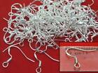 925 Stamped Shiny Silver Earring Fish Hooks Ear Wires Jewellery Making Findings