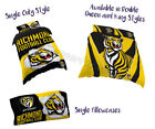 Richmond Tigers 2018 AFL Quilt Cover Doona Single Double Queen King Pillowcase