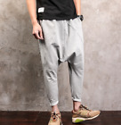 Mens Harem Casual Pants Slacks Korean Hip Hop Street Oversize Trousers A1315