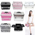 New Professional Beauty Box Make Up Rose Vanity Case Cosmetic Nail Jewelry Case