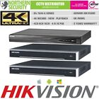 HIKVISION 4K UHD H.265 4/8/16 Channel 8MP NVR DS-7600 NVR POE IP CCTV RECORDER