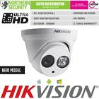 HIKVISION 4mm 5 MEGAPIXEL 2MP 1080P P2P EXIR TURRET IP DOME SECURITY CAMERA CCTV