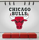 Chicago Bulls Logo Wall Decal Sports Window Sticker Home Decor Vinyl NBA CG046 on eBay
