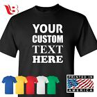 Custom Personalized T Shirts Your Own Text Many Colors Business T-Shirt Tee Gift