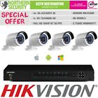 HIKVISION 4CH 1/2/3/4 Camera 2MP FULL TURBO HD-TVI CCTV KIT HOME SECURITY SYSTEM