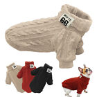 Внешний вид - Knitted Dog Sweater Chihuahua Clothes Winter Knitwear Pet Puppy POLO Neck Jumper