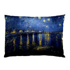 New Van Gogh Starry Night Over The Rhone for Pillow Case Cover Free Shipping