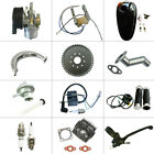 66cc 80cc 2 Stroke Engine Motorized 415 chain Bicycle Bike Parts