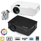 MINI 7000LUMEN 3D 1080P HD LED VIDEO PROJECTOR HDMI/USB/SD/AV/VGA HOME CINEMA US