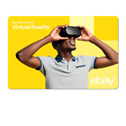 Because You Love Virtual Reality - eBay Digital Gift Card $15 to $200