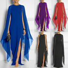 Women's Long Sleeve Casual Long Maxi Evening Party Cocktail Beach Dress