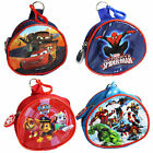 Children's Character PVC Front Coin Wallet Purse with Clip - Choose Design