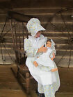 Matching Doll Set and Child Costume ~Pioneer Girl Blue an...