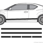Scion tC or FR-S Rocker Panel Racing Stripes 3M Vinyl Decal Kit on eBay