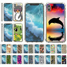 For Apple iPhone X / iPhone 10 Slim Fitted Flexible TPU Case Shock Bumper Smoke