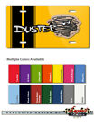 """1970 - 1974 Plymouth Duster """"Dust Twister"""" Novelty 8x12 Aluminum License Plate"""