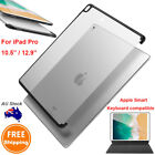 For iPad Pro 10.5/12.9 Clear TPU Shockproof Case Cover (Support Smart Keyboard)