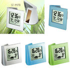 Digital Travel Alarm Clock - Snooze Bedside Clock Thermometer Date Weather