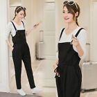 Внешний вид - Maternity Cotton Linen Casual Loose Harem Romper Jumpsuit Overall Trousers Pants