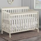 5 in 1 Convertible Crib  Nursery Toddler Baby Bed Furniture Daybed Full Size