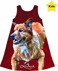 Kids Dress - All Over Print - with Your Pet Photo