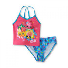 Shopkins Girls' Tankini Top and Swim Bottoms Swimsuit